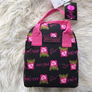 Handbags - Betsey Johnson fry lunch tote